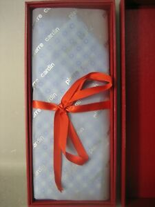 Pierre Cardin Silver Men's Tie With Original Box NEW
