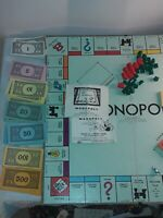 Monopoly Board 1946 Copyright, Chance And Community Chest 1936 Copyright...
