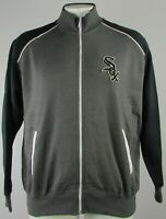Chicago White Sox MLB Majestic Men's Gray Full Zip Jacket