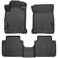 Husky Liners WeatherBeater Floor Mats 1st & 2nd Row for 2013-2017 Honda Accord