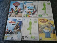 Wii games bundle mixed joblot