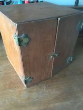 New listing Vintage Microscope Wood Box