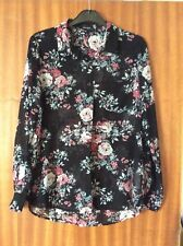 New Look Ladies Floral Pattern Blouse / Shirt Size 12.