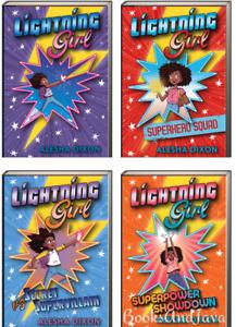 Lightning Girl 1-4 Superhero Squad, Supervillan... Alesha Dixon (Paperbacks)