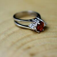 Details about  / 925 Sterling Silver Handmade Antique Turkish Ruby Ladies Ring Size 6-12