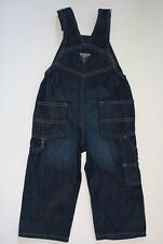 New OshKosh BGosh Baby Boys Denim Overall Size 2T MSRP $36