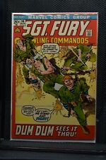 Sgt Fury and His Howling Commandos #96 Marvel Comic 1972 Stan Lee Dick Ayers 8.0