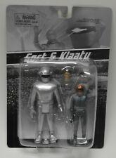 The Day the Earth Stood Still Gort and Klaatu Retro Action Figure Set MONSTARZ