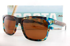 Costa Del Mar Fishing Sunglasses ARANSAS Shiny Ocean Tort Copper 580G Polarized