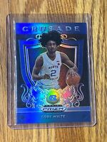 #3 2019-20 Coby White Panini Prizm Draft Picks Rookie CRUSADE Blue Prizm BULLS🔥