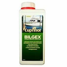 Cuprinol Bilgex 1 Litre Bottle. Easy to use boat bilge cleaner