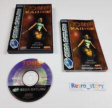 SEGA Saturn Tomb Raider PAL