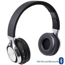 On Ear FM Bluetooth Kopfhörer mit Anruf Annahme & Musikregler Headphone Earphone