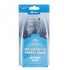 12 Foot Charge Cable for Nintendo Wii U Pro Controller