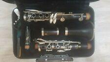 YCL-400AD Yamaha Advantage clarinet-wood body, nickel plated keys, made in Japan