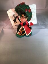 Alice In Wonderland Queen Of Hearts Sketchbook Ornament Disney Villains