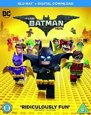 The Lego Batman Movie Blu Ray - BRAND NEW FACTORY SEALED With Digital Download!