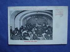 NAPOLI-FINE COLERA 1910-CARTOLINA-CRIPTA BASILICA S. GENNARO ANTIGNANO-VOMERO