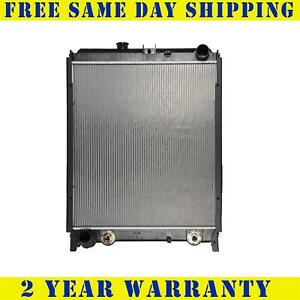 Radiator For Hino Fits 238 258LP 268 with side plates & mounting bracket 530013