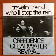 "Creedence Clearwater Revival - Travelin Band 7"" Vinyl"