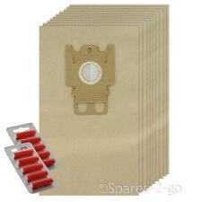 10 sacchetti carta GN Tipo Hoover sacchetti per Miele S2110 S2111 Autumn Red VUOTO NUOVO