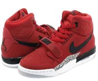 "Nike Air Jordan Legacy 312 GS ""TORO"" Youth Shoes Size-7Y Varsity Red Black"
