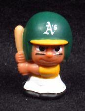 """MLB TEENYMATES ~ 1"""" Batter Figure ~ Series 1 ~ Oakland Athletics ~ Minifigure"""
