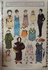 Kate Greenaway Antique Embossed Cut-Out Paper Dolls, Merrimack Publishers