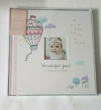 C.R. Gibson Pink Baby Memory Book for Girls