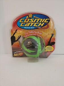 Hasbro Nerf Cosmic Catch Foam Green Black Ball Only 2006 | WORKS!!!