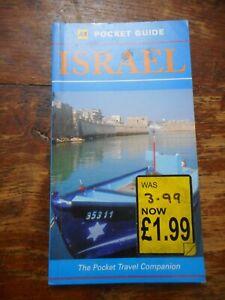 AA Pocket Guide Israel The Pocket Travel Companion Book