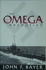 THE OMEGA DECEPTION, 2000 WORLD WAR II MILITARY/SPY ADVENUTRE