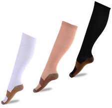 Unisex Compression Stockings Anti-Fatigue Calf Support Relief Leg Socks 3 Colors