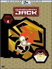 SAMURAI JACK SEASON 4 New Sealed 2 DVD Set