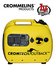 CROMTECH OUTBACK 2.4kVA PORTABLE INVERTER GENERATOR- 2400W MAX – 2100W – CROM...