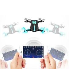 Drone Cuadricóptero Helicóptero Juguete Min Plegable Wi-Fi Selfie Conveniente