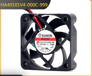 SUNON HA40101V4-000C-999 12V 0.8W 4010 4CM 2-pin silent magnetic cooling fan