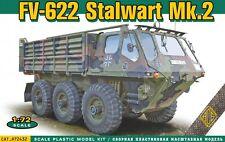 "ACE 72432 ""Alvis Stalwart FV-622 Mk.2 6x6 amphibious military truck"" Model 1/72"