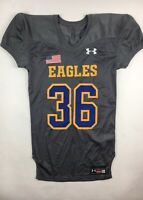 New Under Armour Eagles Football Youth Boys Jersey Pick Your Size & Number Grey