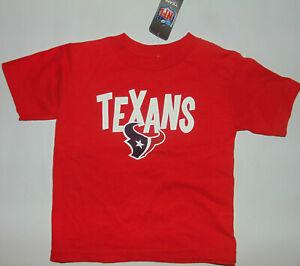 Houston Texans NFL Football Kids Youth Shirt Matt Schaub #8 Sz 3T Toddler NEW