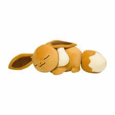 Eevee Pokemon Center Original Plush Doll Sleeping  Fluffy
