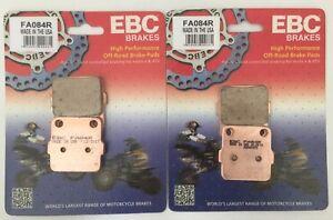 EBC Sintered FRONT Brake Pads (2 Sets) For SUZUKI LTZ250 / LTZ400 (2003 to 2015)
