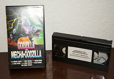 1993 GODZILLA VS MECHA-GODZILLA VHS CASSETTE w/ ORIGINAL CLAMSHELL
