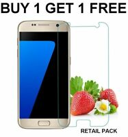 100% REAL TEMPERED GLASS FILM LCD SCREEN PROTECTOR FOR SAMSUNG GALAXY S7