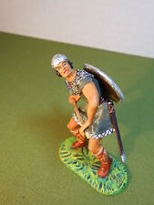 Elastolin 7cm-70mm Pro-Painted Viking with Long Axe, ELITE ELASTOLIN CONVERSION