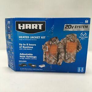 Hart Heated Jacket Kit Adjustable Heat Realtree Xtra Camo Medium HAHJ02MB