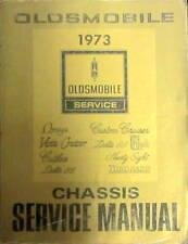 1973 OLDSMOBILE CUTLASS 88 98 TORONADO OMEGA SERVICE MANUAL ORIGINAL EN ANGLAIS
