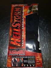 BLACKHAWK HELLSTORM TACTICAL S.O.L.A.G. ASSAULT FULLFINGER GLOVES BLACK 8066XXBK