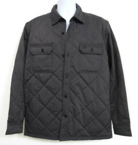 TIMBERLAND A1L27-C64 MEN'S GRAY Quilted JACKET Size L