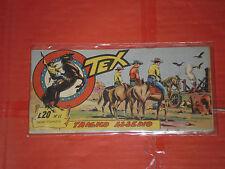 TEX STRISCIA ORIGINALE n° 11 -del 1956-12° SERIE topazio  -no araldo o zagor